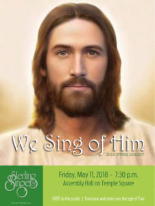 We Sing of Him - Spring Concert @ Temple Square Assembly Hall | Salt Lake City | Utah | United States