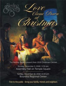 Christmas Concert @ Temple Square Assembly Hall  | Salt Lake City | Utah | United States